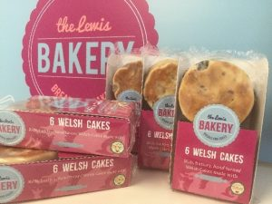 Packs of Shirgar butter Welsh cakes