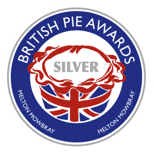 Silver award at the British Pie Awards 2016