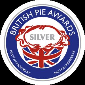 Silver award at the British Pie Awards 2016